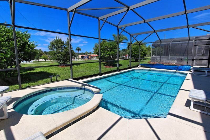 Clermont holiday villa rental with private pool