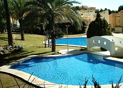 Villa in Spain, Sierra Altea: The pool