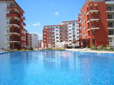 Apartment in Bulgaria, Robinzon: Panorama and Marina Freya
