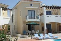 Villa in Cyprus, Universal Gardens: Large south facing patio for all day sun & outside dining. Sun..