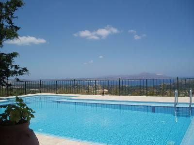 Villa in Greece, Apokoronas: Swimming Pool at Villa Amygdalia