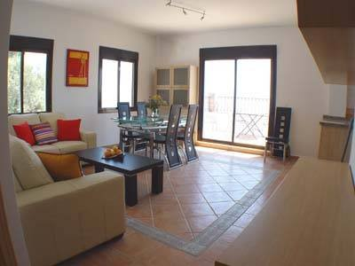 Apartment in Spain, Comares: Sitting room