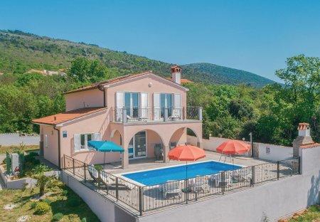 Villa in Viškovići, Croatia
