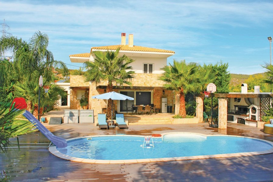 Athens City holiday villa rental with private pool