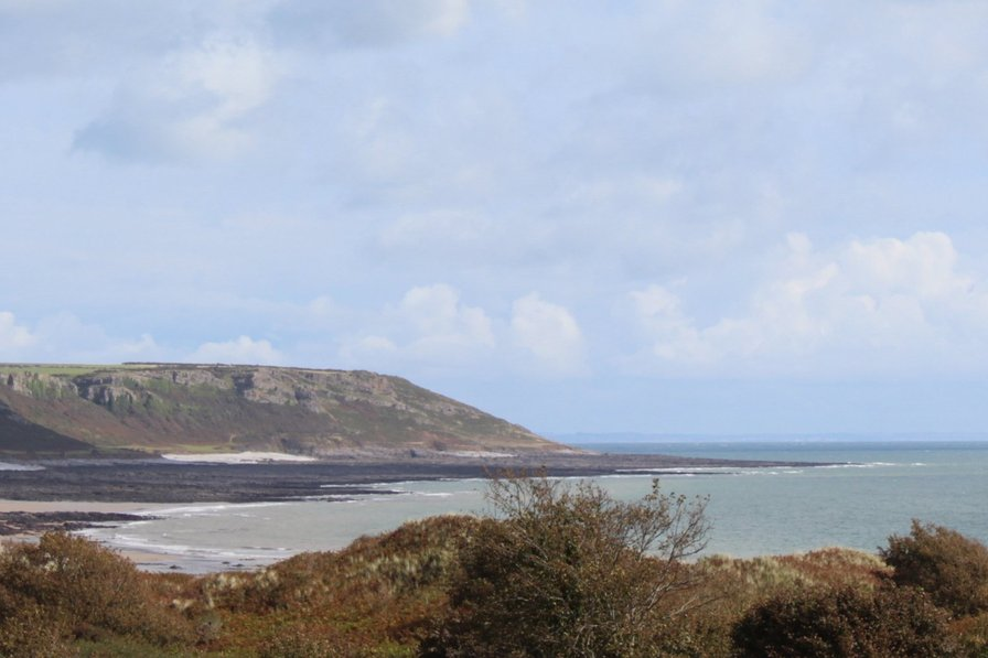 Homely Gower Coastal Property