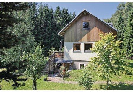 House in Gruenhain-Beierfeld, Germany