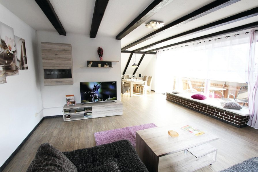 Apartment in Germany, Born