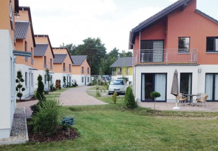House in Koepenick, Germany