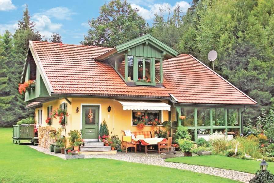 House in Germany, Bayerisch Eisenstein
