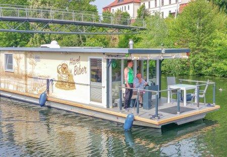 Boat in Pritzerbe, Germany
