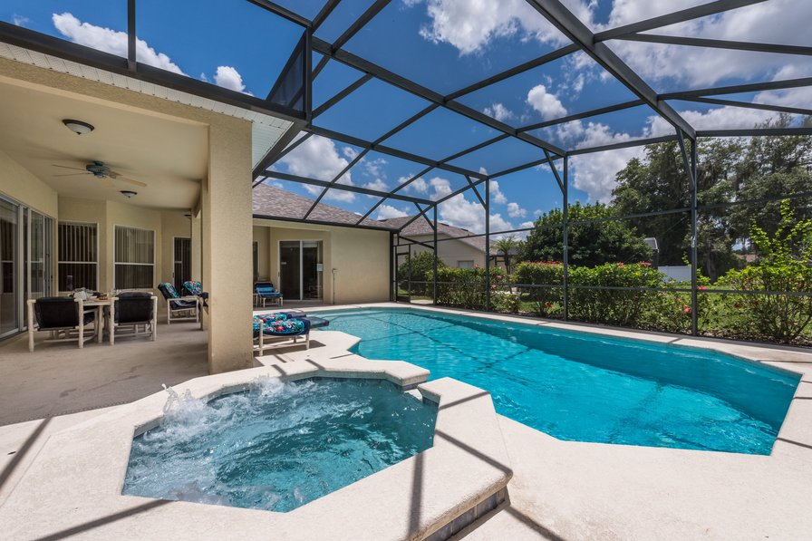 Villa To Rent In Grand Reserve Florida With Private Pool