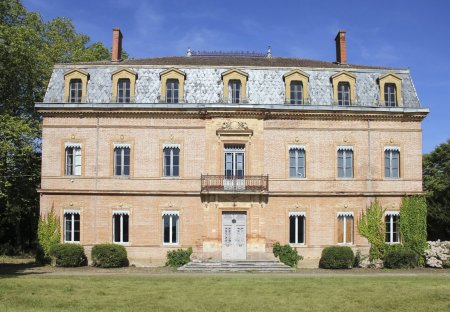 Chateau in Le Fousseret, the South of France