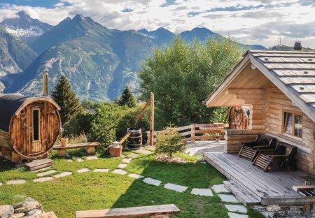Villa in Unterbäch, Switzerland