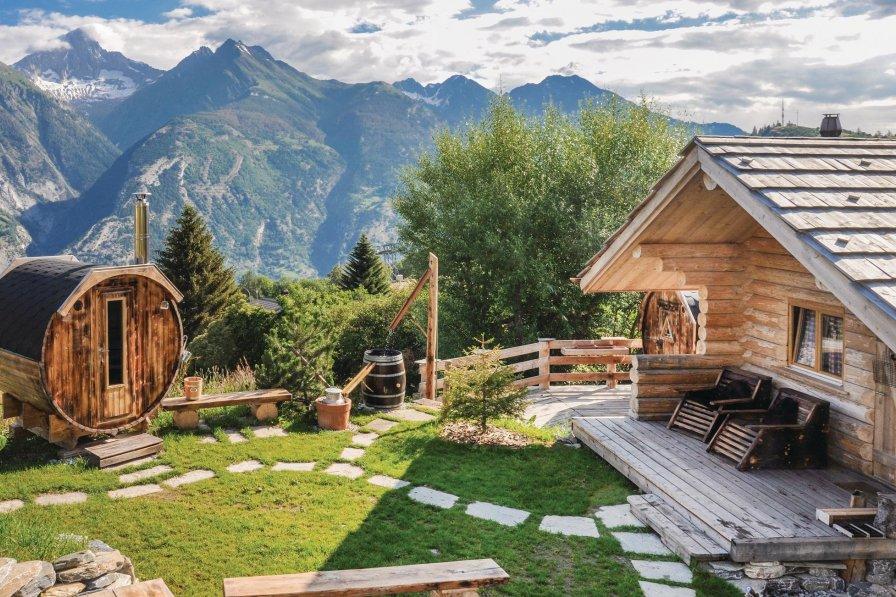 Villa in Switzerland, Unterbäch