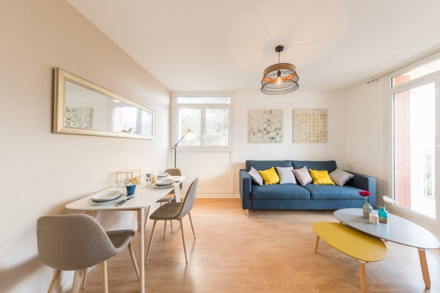 Cosy and Beautiful Apart T2 - 200 m from the beach