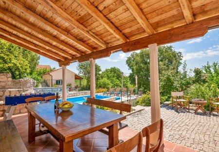 Villa in Orah, Croatia