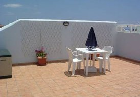 Apartment in Oasis del Sur, Tenerife: The lovely private roof terrace