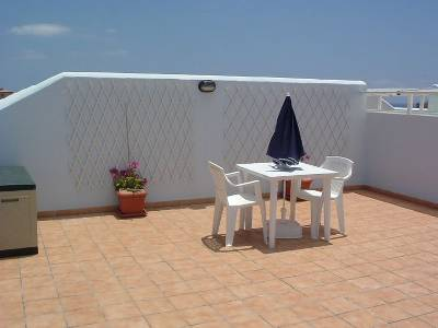 Apartment in Spain, Los Cristianos: The lovely private roof terrace