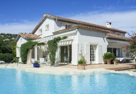 Villa in Village-Le Val-Cabrieres, the South of France