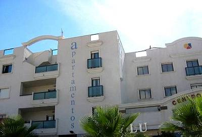Apartment in Spain, Cabo Roig: Hotel Front