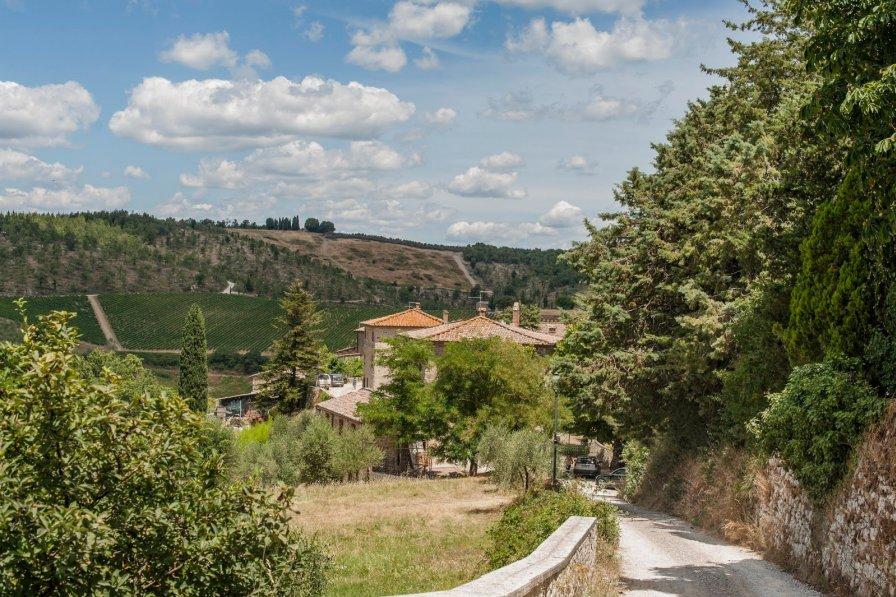 Villa in Italy, Tregole
