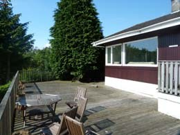 House in United Kingdom, Kyles of Bute: Large Deck
