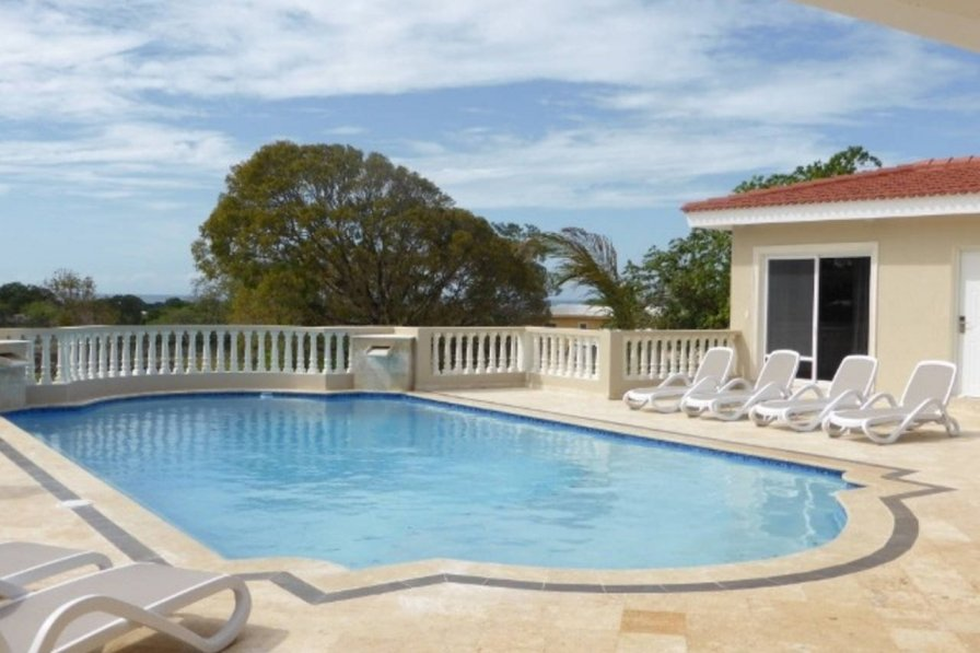 Newly build ocean view villa