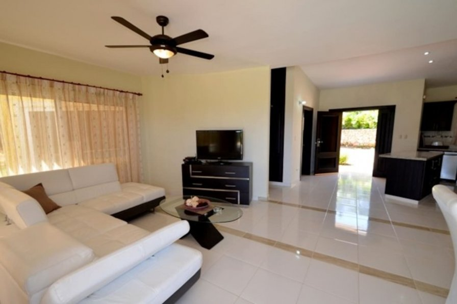 Well furnished two bedroom private and secure villa