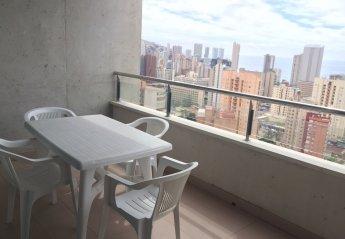 1 bedroom Apartment for rent in Benidorm