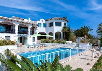 5 bedroom Villa for rent in Altea