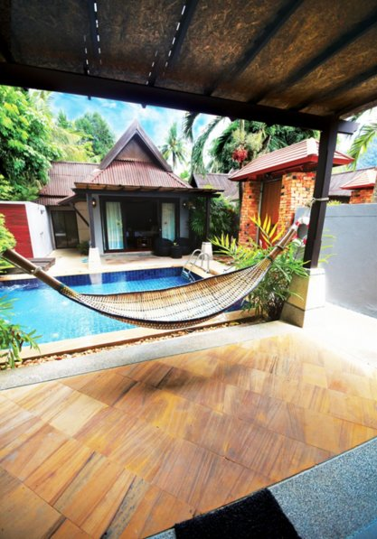 Private Pool Villa by the beach ( Railay, Krabi )