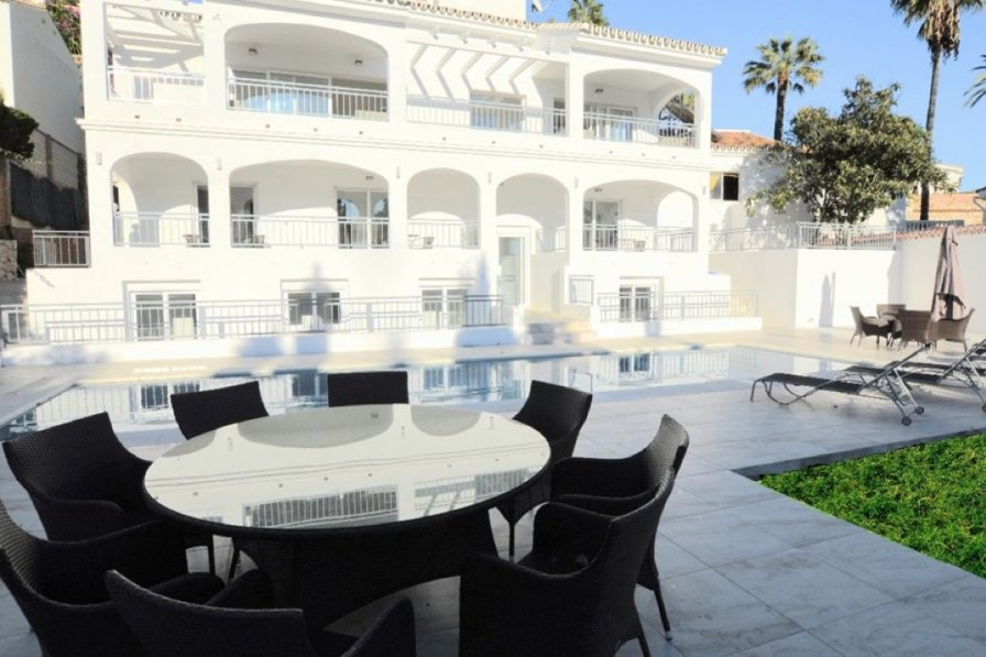 Bedroom Villa With Pool For Rent Near Malaga