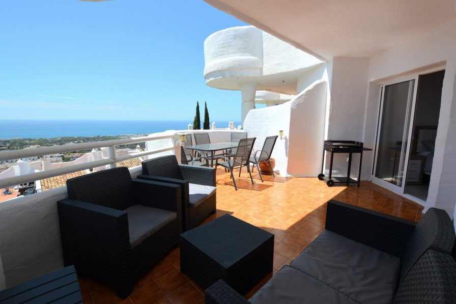 Stunning Views from Two Bedroom in Calahonda