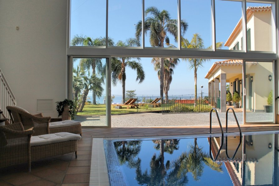 Villa To Rent In Santa Luzia Funchal Madeira With