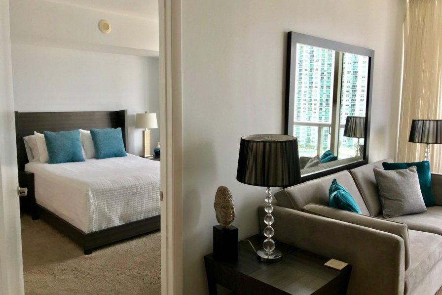 LUXURY 1 Bedroom w/GREAT VIEWS @ The W Miami ICON