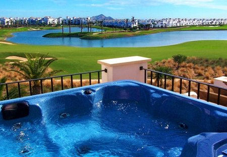 Villa in La Torre Golf Resort, Spain: Lake View with Private Hot Tub