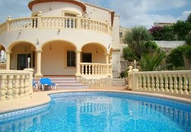 Villa Mimosa in Orba - Nr Javea and Denia Sleeps 6