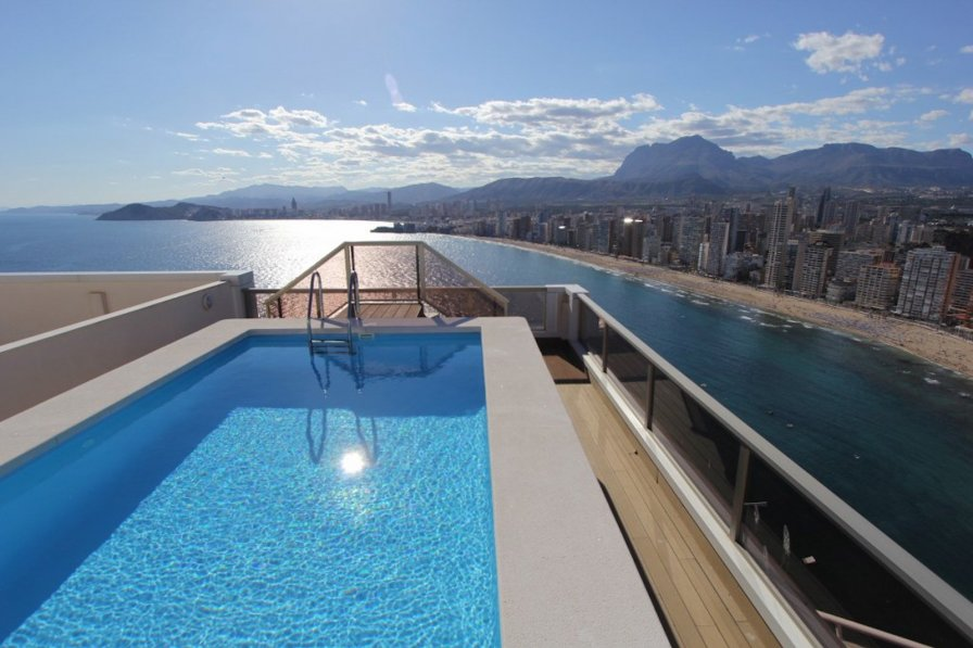 Apartment to rent in benidorm spain with swimming pool - Swimming pool repairs costa blanca ...
