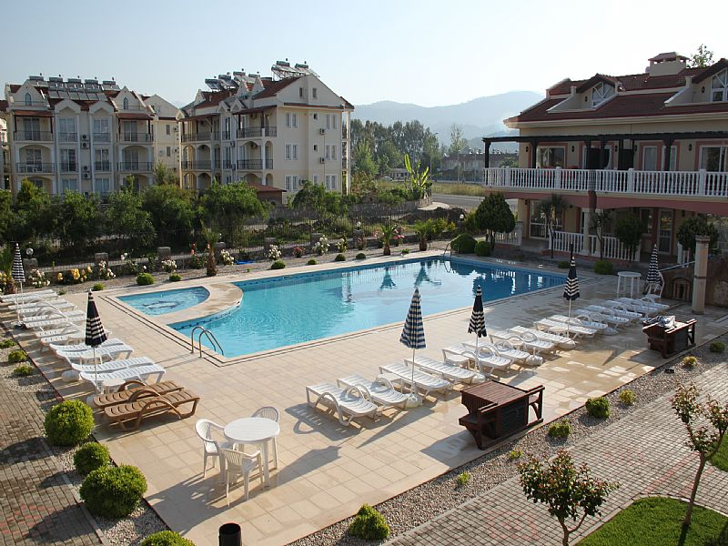 Apartment in Turkey, Calis Beach: view from balcony