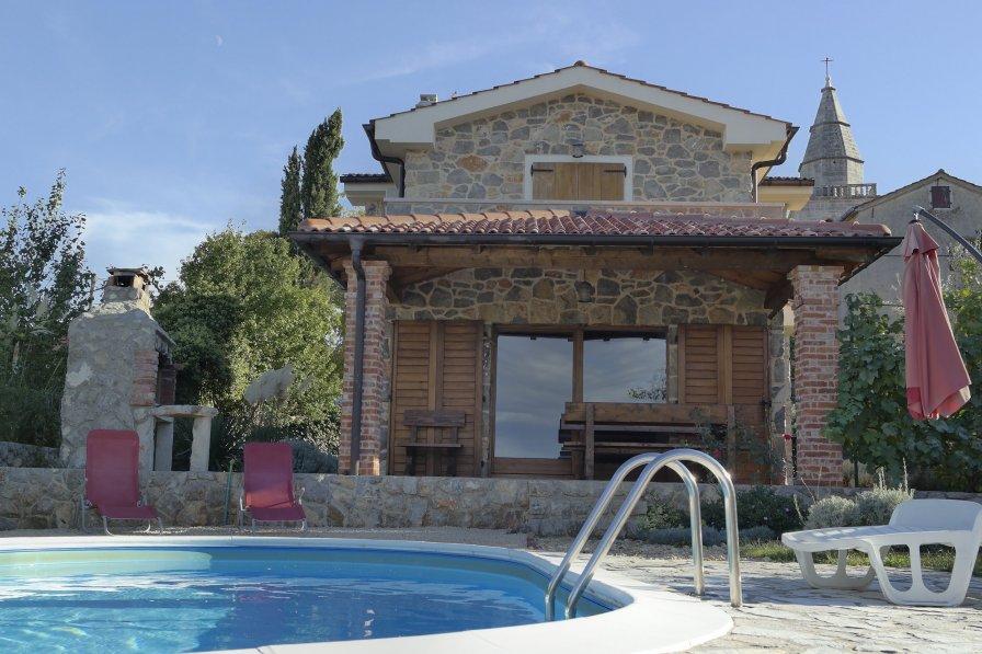 Villa in Croatia, Poljica (Krk)