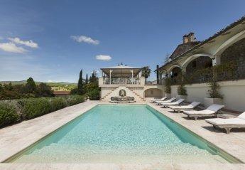 7 bedroom Villa for rent in Bucine