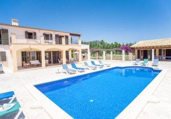 6 bedroom Villa for rent in Santanyi