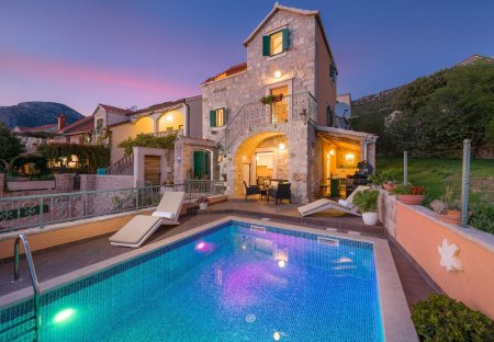Villa in Bol, Croatia