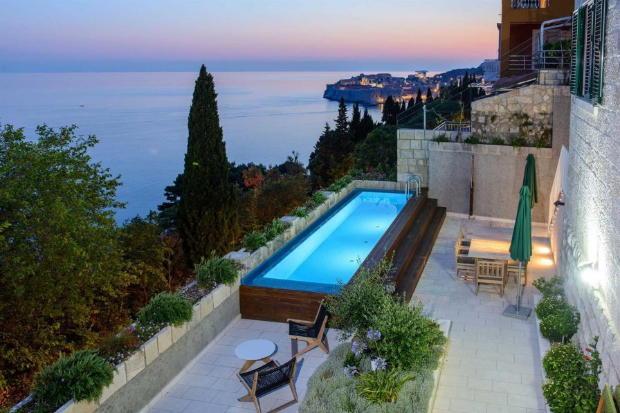 Luxury Residence Queen of Dubrovnik with Swimming Pool