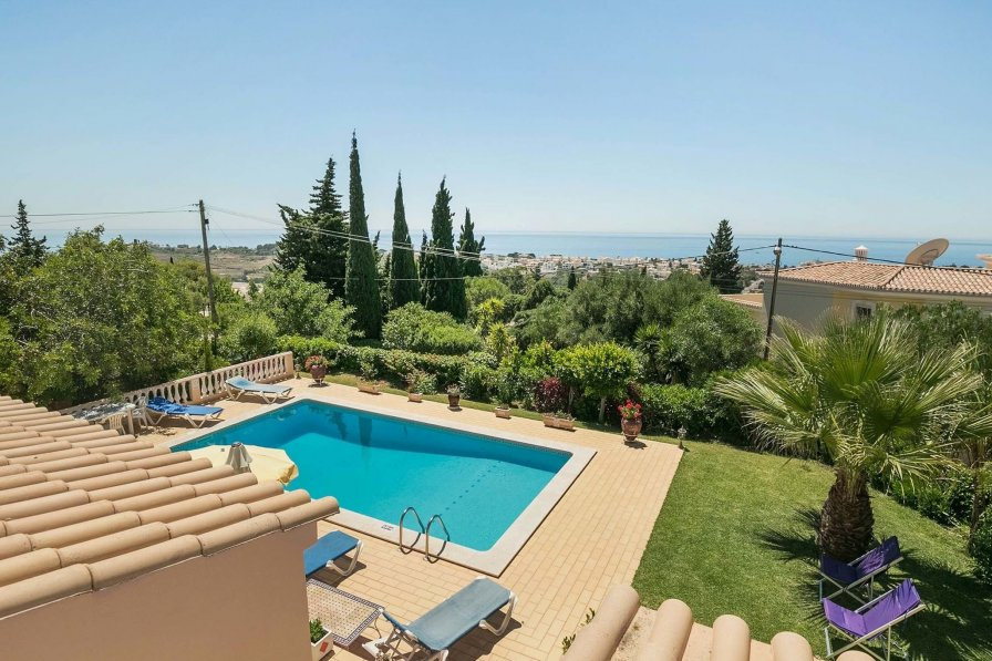 House To Rent In Cerro De 193 Guia Algarve With Private Pool