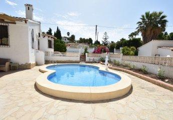 2 bedroom Villa for rent in Calpe