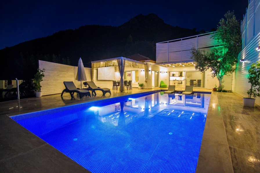 Secluded Two Bedroom Villa Ovali, Large Pool & Great Views