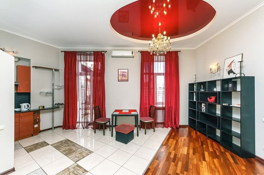 Two bedrooms. 25 V.Vasylkivska str. Centre of Kiev