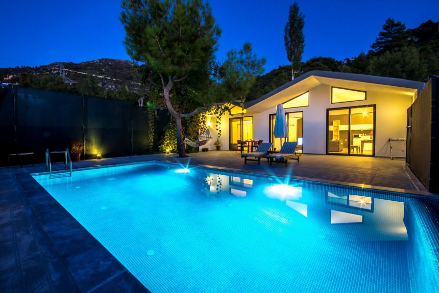 Secluded Contemporary Honeymoon Villa Derin with Private Pool