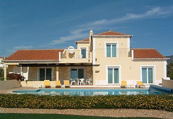 Villa in Portugal, Eastern Algarve: luxury villa with heated pool, superb garden, aircon and games..
